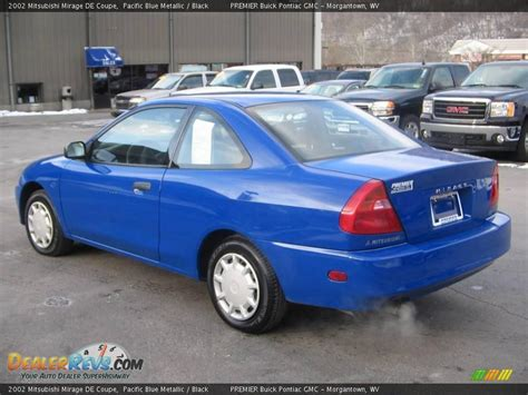 mitsubishi mirage coupe 2002 mitsubishi mirage de coupe pacific blue metallic