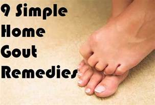 home remedy for gout gout remedies