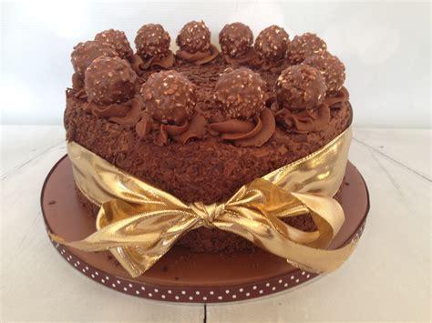 chocolate cake ferrero rocher ferrero rocher cake the dotty bakery