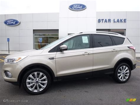 White Gold Photos by 2017 White Gold Ford Escape Titanium 4wd 112746250 Photo