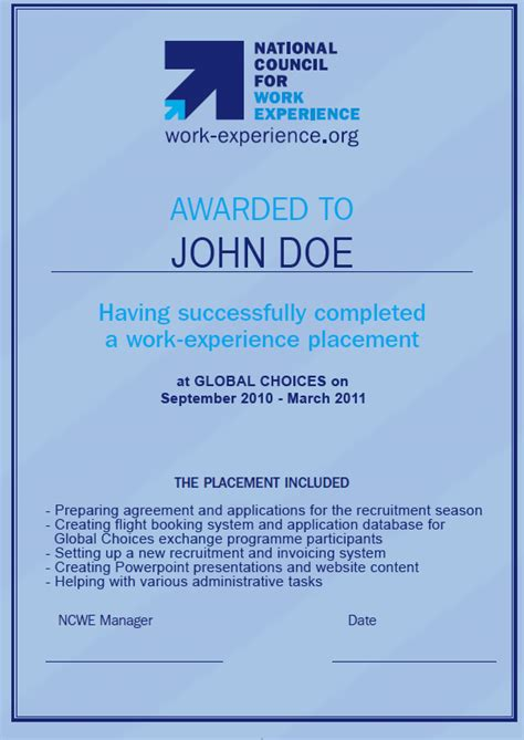 Work Experience Letter Uk Exle Of Employment Certification Letter Http Images Frompo