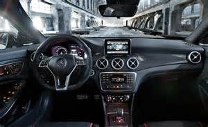 Interior Of Mercedes Car And Driver
