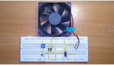 temperature controlled computer fan pc fan controller circuit