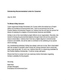 Recommendation Letter Sle For Coworker Reference Letter For Co Worker Docoments Ojazlink