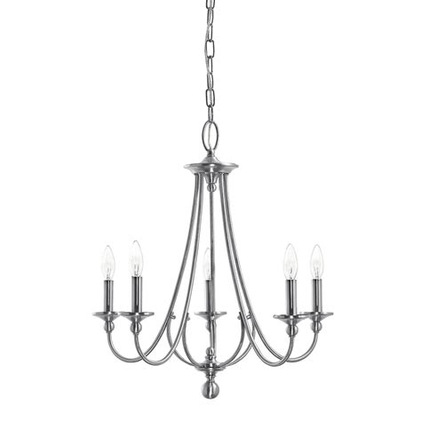kichler lighting chandelier shop kichler lighting camella 21 77 in 5 light brushed
