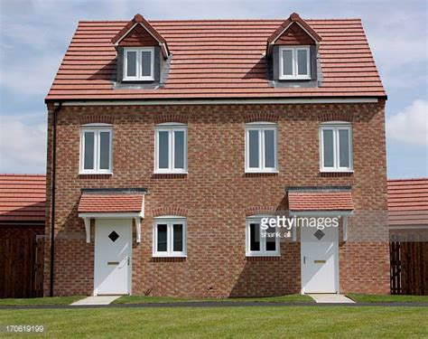 detached house semi detached stock photos and pictures getty images