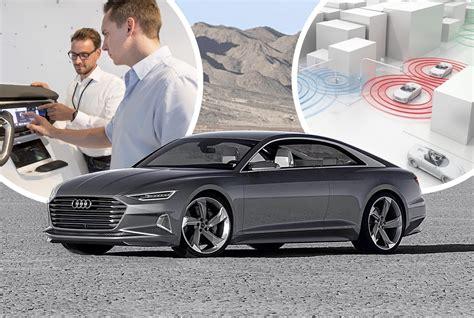 Audi A8 Neu by Audi A8 2017 Intelligentes Infotainment Pia Car To Car