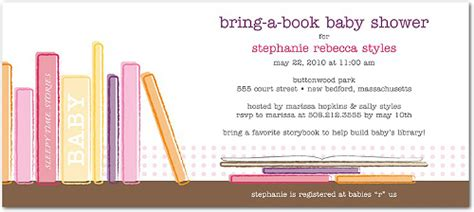 Book Themed Baby Shower Invitation Theruntime Com Book Invitations Template