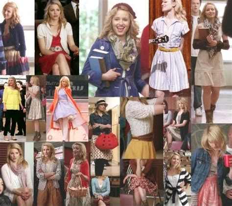 quinn fabray style glee means opening yourself up to
