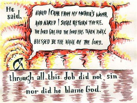 themes in book of job bible verse art one drawing for every book of the bible