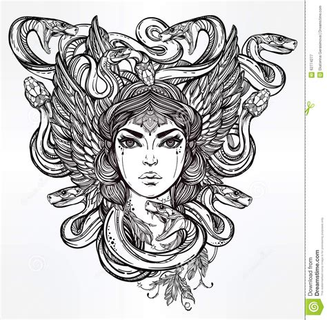 female angel tattoo coloring pages
