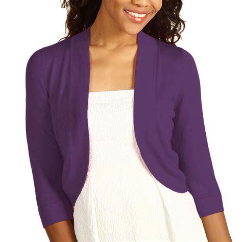 Bolero Cardigan 3 4 sleeve bolero sweater jacket womens shrug cardigan s ac1122