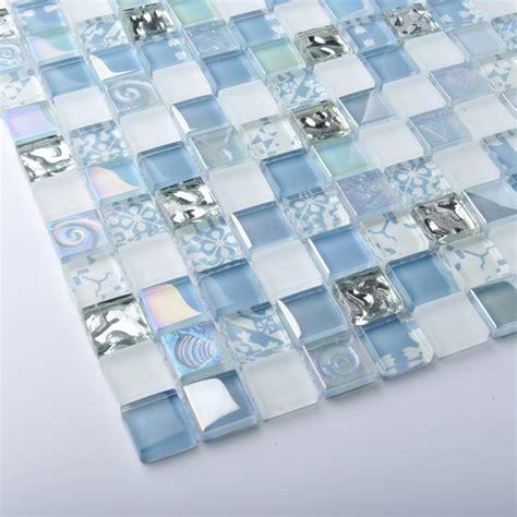 blue glass tile kitchen backsplash tst glass tiles blue glass mosaic tile iridescent