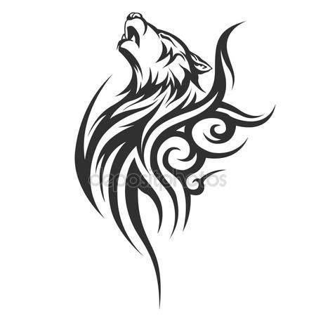 oltre 25 fantastiche idee su tatuaggi di lupi su pinterest