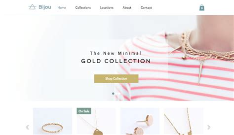 Handmade Clothing Websites - fashion website templates wix