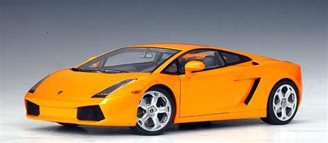 Clear Lamborghini Autoart Lamborghini Gallardo Metallic Orange Clear
