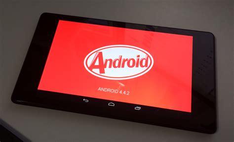 Nexus 7 2013 Android 4 4 2 Impressions