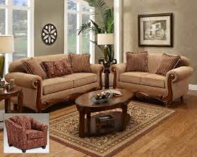 Beige fabric traditional loveseat amp sofa set w options chfs v1 1000