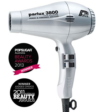 Hair Dryer Ionic Vs Ceramic parlux 3800 ionic ceramic hair dryer silver home hairdresser