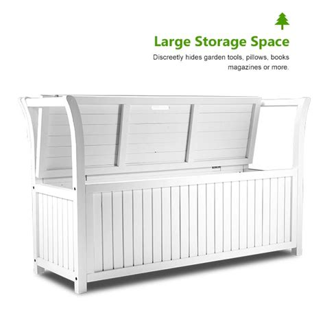white wooden storage bench white wooden outdoor garden storage bench crazy sales