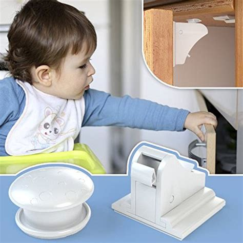 Child Safety Drawer Locks No Screws by Child Lock Invisible Magnetic Locking System 4 Locks 1