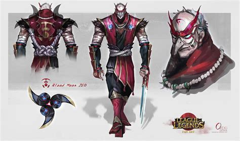 Zhoey Crussader Black fanart bloodmoon zed by orekigenya on deviantart