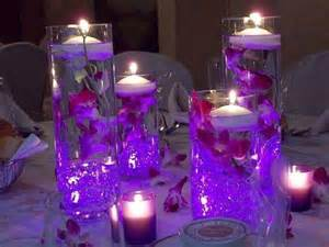 table decorations centerpieces 37 trendy purple wedding table decorations