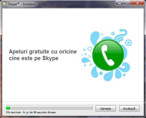 tutorial utilizare skype download skype limba romana instalare skype romana