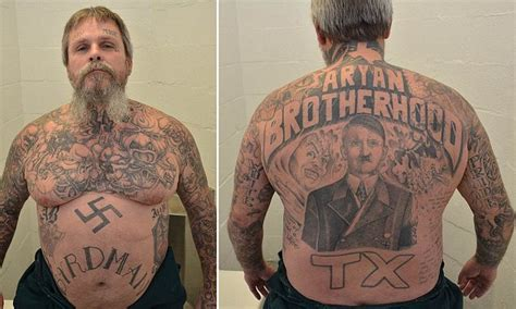 aryan brotherhood tattoos aryan brotherhood kingpin headed for of solitary