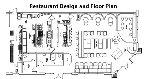 cafe design guidelines restaurant floor plan home design plan