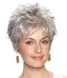 gray hair styles american 50 best old lady grey hair wig pinterest