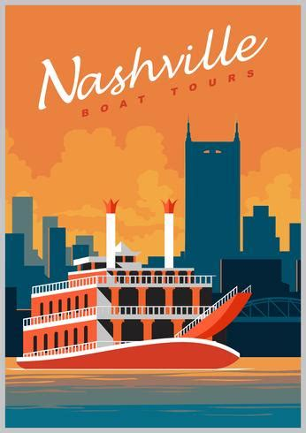 nashville boat tours nashville boat tours download free vector art stock