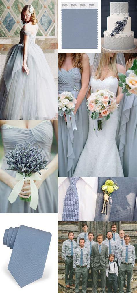 slate  dusty blue wedding ideas deer pearl flowers