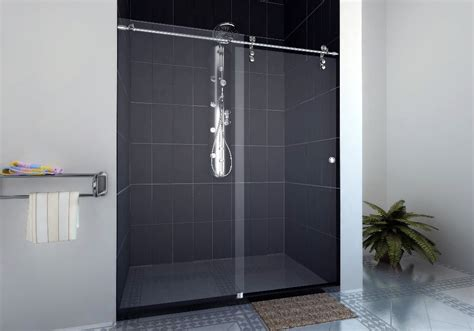 Glass Shower Door Width 72 Inch Width Glass Frameless Sliding Shower Door Fittings Sdm Sr01a With Free Shipping In