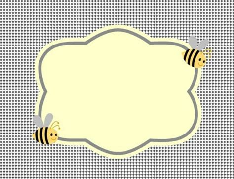 Cute Bumble Bee Baby Shower My Practical Baby Shower Guide Bumble Bee Invitation Template Free