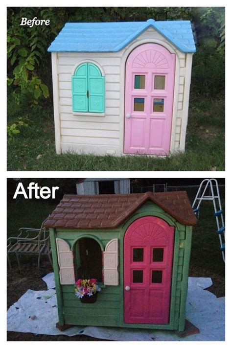 tikes playhouse green roof chimney tikes deluxe home and garden playhouse play house