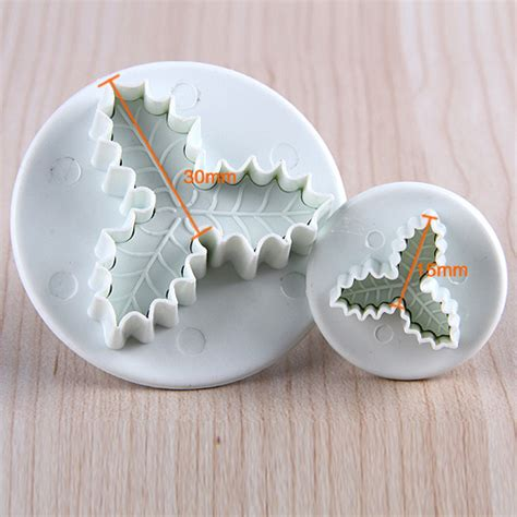 christmas xmas cake decorating cutter mold baking mould