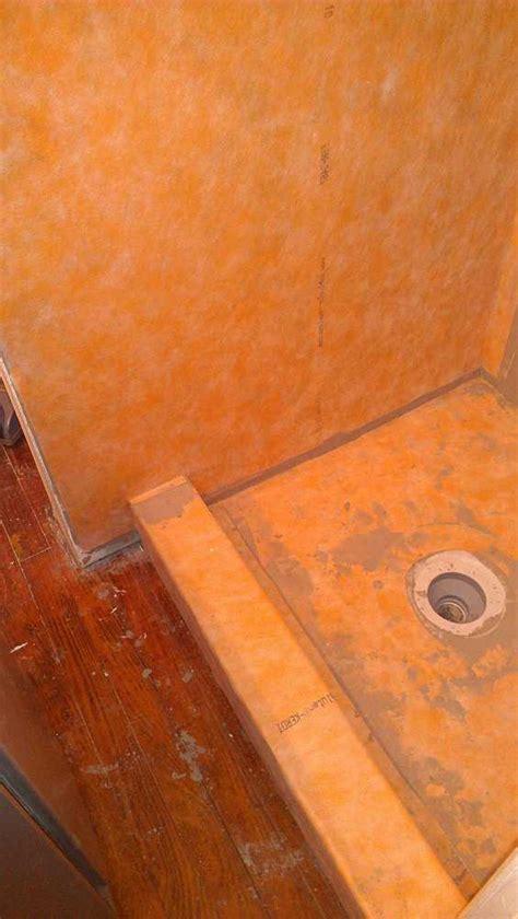 Ditra Shower Pan by Schluter Kerdi Shower Kit Soft Tiling Flooring
