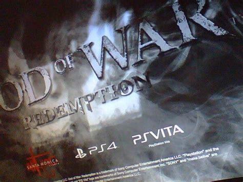 god of war film sonyrumors rumor sony prepara un nuevo god of war para ps4 y ps vita