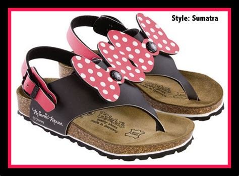 Sandal Mini Mouse where to find disney birkenstock sandals this style is