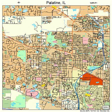 map of palatine illinois palatine illinois map 1757225