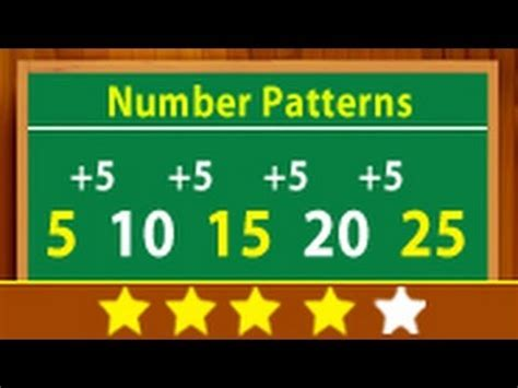 Number Pattern Youtube | cool maths learn about number patterns youtube