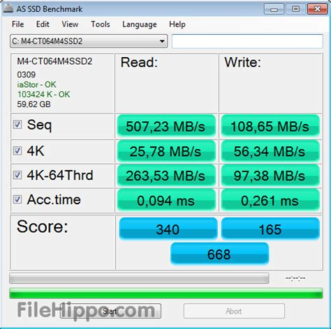 bench mark tool download as ssd benchmark 2 0 6485 filehippo com