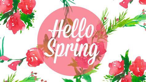wallpaper spring pinterest freebie hello spring desktop iphone wallpaper