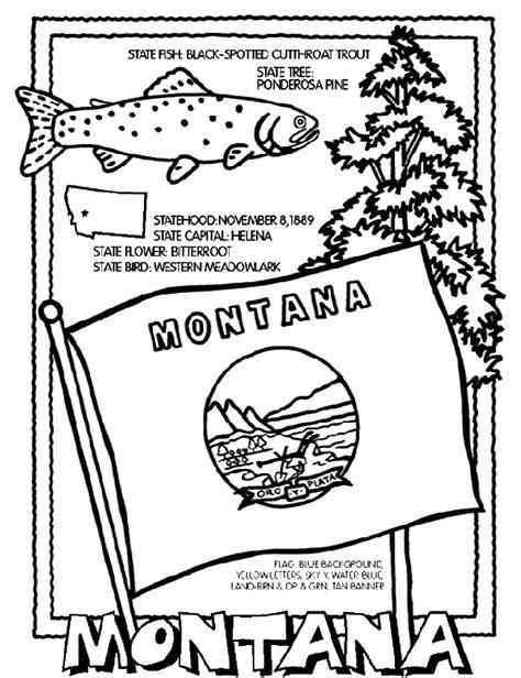 Montana Crayola Com Au Montana Coloring Pages
