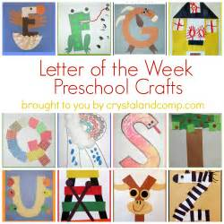 letter of the week crafts for preschoolers to simply inspire