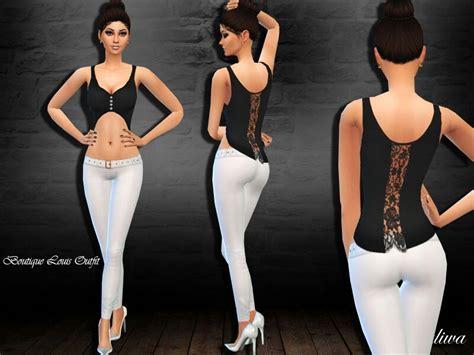 sims 4 custom content dresses outfits clothing sleepwear tsr sims 4 cc shop custom