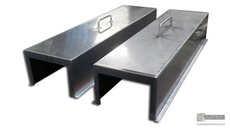 Sheet Metal Cover by Fabrication Of Custom Sheet Metal Products Miscellaneous Items