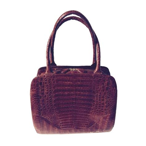 Nancy Handbag by Nancy Gonzalez Top Handle Crocodile Bag For Sale At 1stdibs