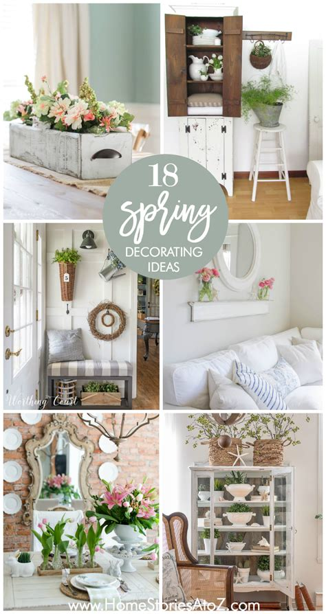 spring decorating 18 spring decor ideas home stories a to z